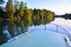 Wild Brenta River Royalty Free Stock Photography