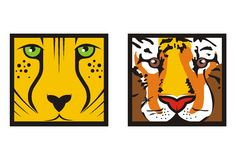 Wild Cats Stock Photography