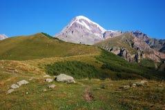 Wild Caucasian berg Arkivbilder