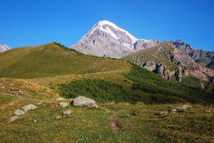 Wild Caucasian mountains Stock Images
