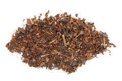 Wild Cherry Bark Herb. Over white background Royalty Free Stock Photo
