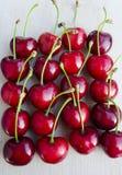 Wild cherry, sweet cherry,bird cherry,or gean Royalty Free Stock Photos