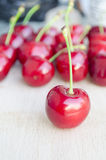Wild cherry, sweet cherry,bird cherry,or gean Royalty Free Stock Photography