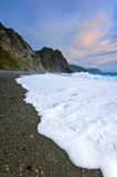 Wild coast. Stock Photography