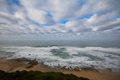 Wild coast along Garden Route, South Africa Stock Images