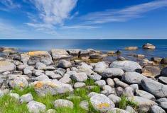 Wild coast Royalty Free Stock Image