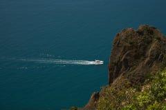 Wild coast of Black sea Royalty Free Stock Photos
