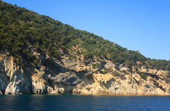 Wild Coast Of Elba Stock Image