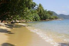 Wild coast. At Koh Chang Island, Thailand Royalty Free Stock Images