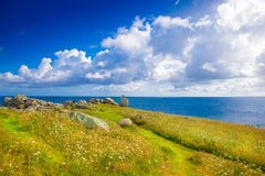 Wild coast Royalty Free Stock Images