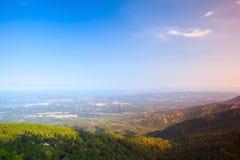 Wild coastal landscape of Corsica. France Royalty Free Stock Photo