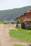 Wild countryside in Moldova Royalty Free Stock Photos