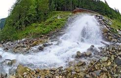 Wild creek Royalty Free Stock Image