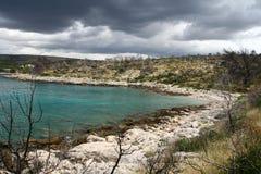 Wild Dalmatian coast Royalty Free Stock Photo
