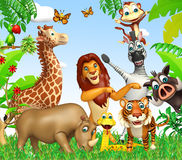 wild djur Royaltyfri Foto