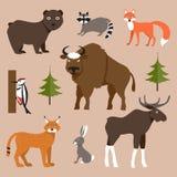 wild djur också vektor för coreldrawillustration Royaltyfri Foto
