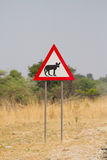 Wild dog sign Stock Photos