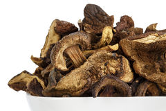 Wild and dried mushrooms Royalty Free Stock Photos