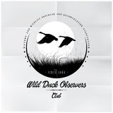 Wild Duck Observers badge Royalty Free Stock Photo