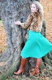 Wild Fashion Model Stock Photo