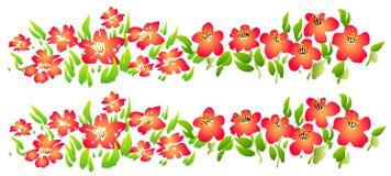Wild flower royalty free illustration