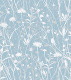 Wild flowers background. Stock Photos