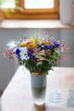 Wild flowers bouquet Stock Image