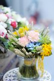 Wild flowers bouquet Royalty Free Stock Photo