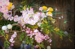 Wild flowers decoration Royalty Free Stock Photography