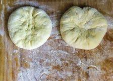 Fresh dough Stock Image