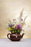 Wild flowers still life Royalty Free Stock Photos