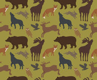Wild forest animals Royalty Free Stock Image