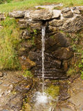 Wild fountain flow Royalty Free Stock Images