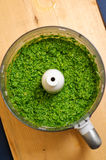 Wild garlic pesto Royalty Free Stock Image