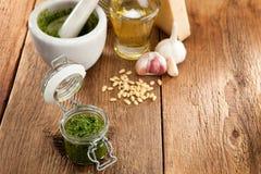 Wild garlic Stock Photography