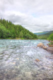 Wild glacier river Royalty Free Stock Photography