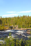 Wild glacier river Stock Photography