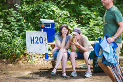 Wild Goose Festival Hydration Station Stock Photos
