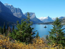 Wild Goose Island, Fall Stock Photography