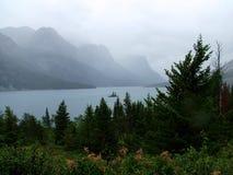 Wild Goose Island in the Rain Stock Images