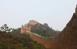 Wild great wall Stock Image