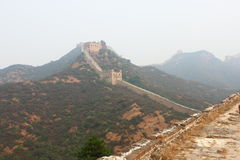 Wild great wall Royalty Free Stock Image