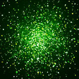 Wild green glitter explosion 008 Royalty Free Stock Photo