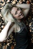 Wild hår Arkivfoto