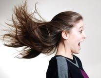 Wild hair Royalty Free Stock Photo