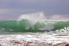 Wild havwave Arkivfoton