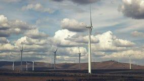 Wild horse wind farm in eastern washington. The wild horse wind farm in eastern Washington, USA stock footage
