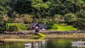 Wild huis op Baskisch Land royalty-vrije stock foto