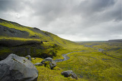 Wild Icelandic Countryside 1 Royalty Free Stock Image
