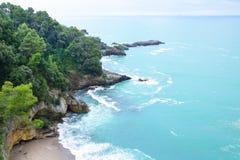 Wild italian beach Royalty Free Stock Photo